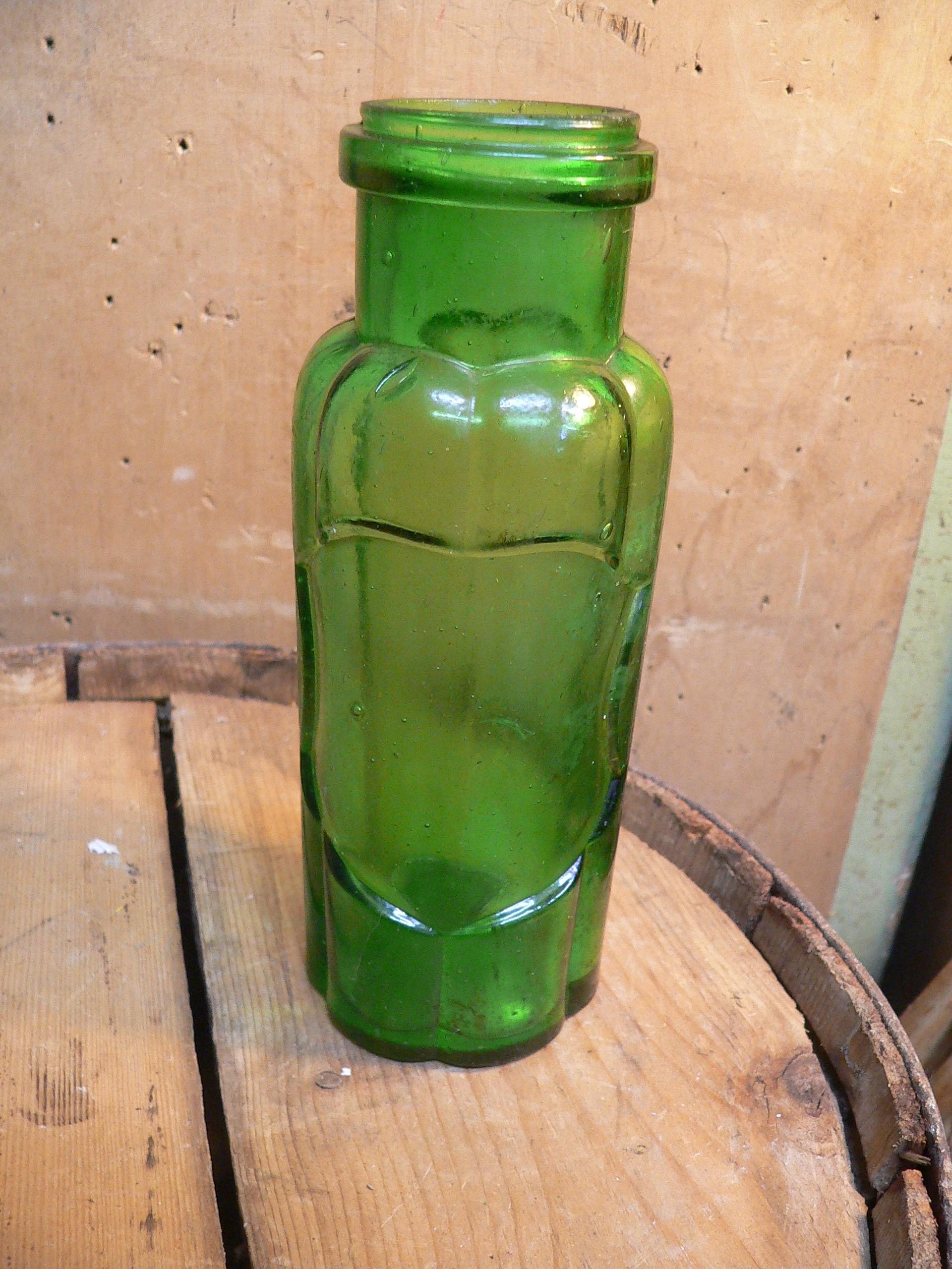 Pot antique vert # 6797.60