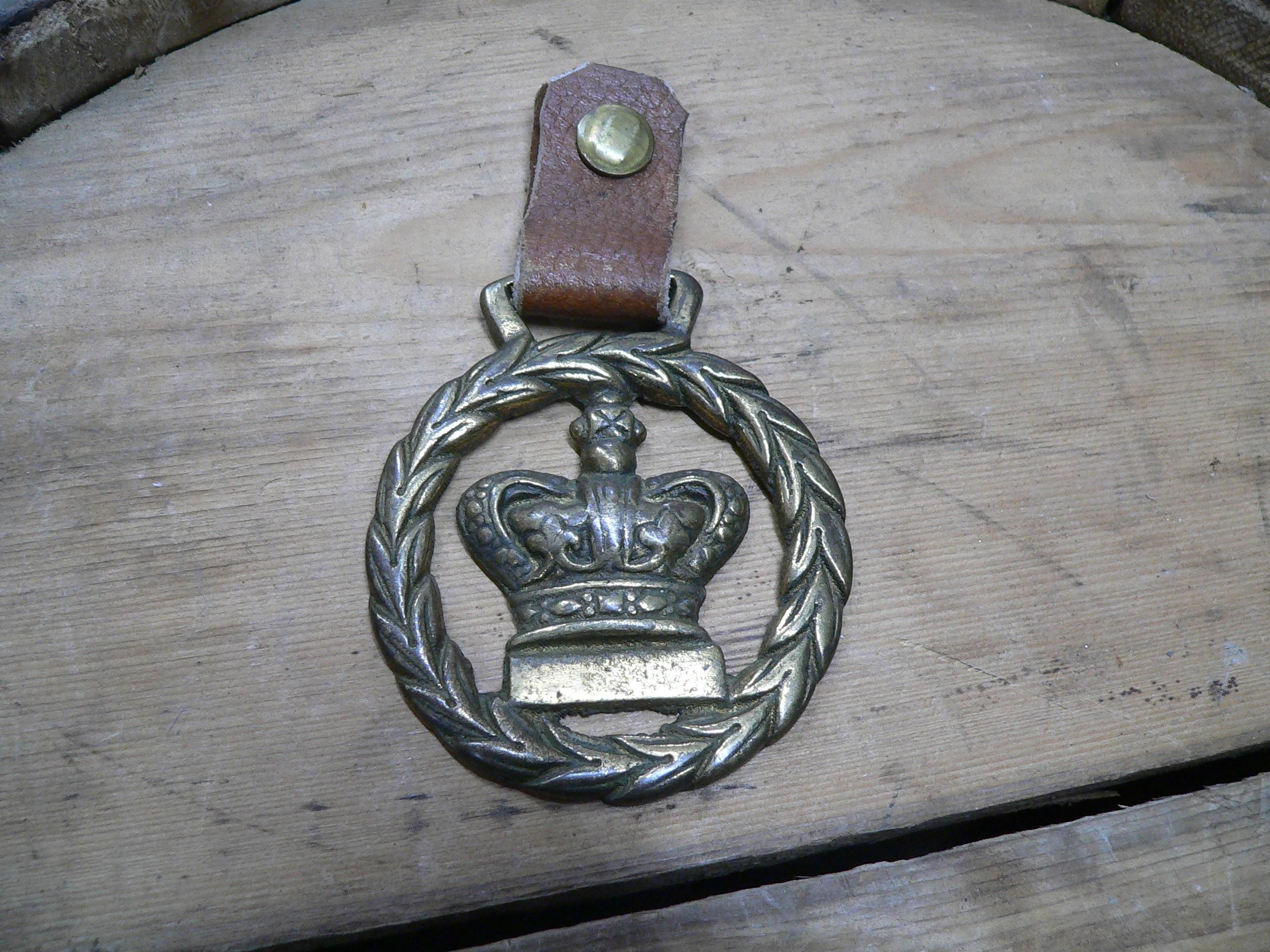 Médaille en brasse de roi # 6915.1