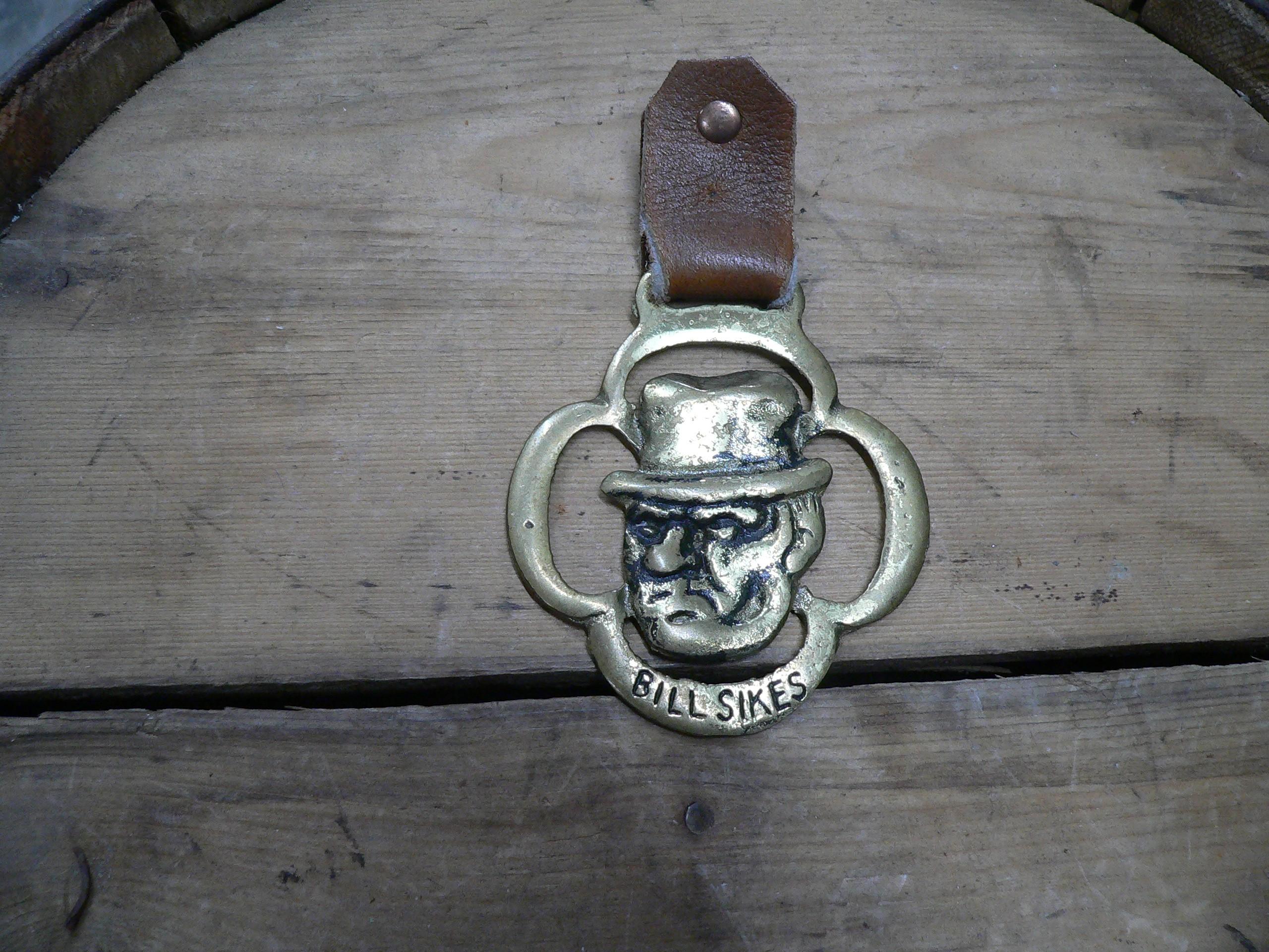 Médaille en brasse Bill sikes # 6915.3