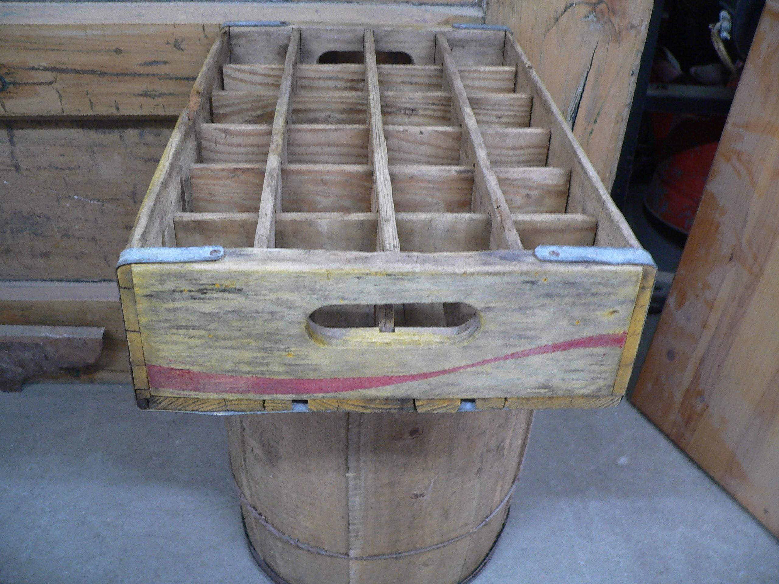 Caisse de coca cola antique # 6967.16