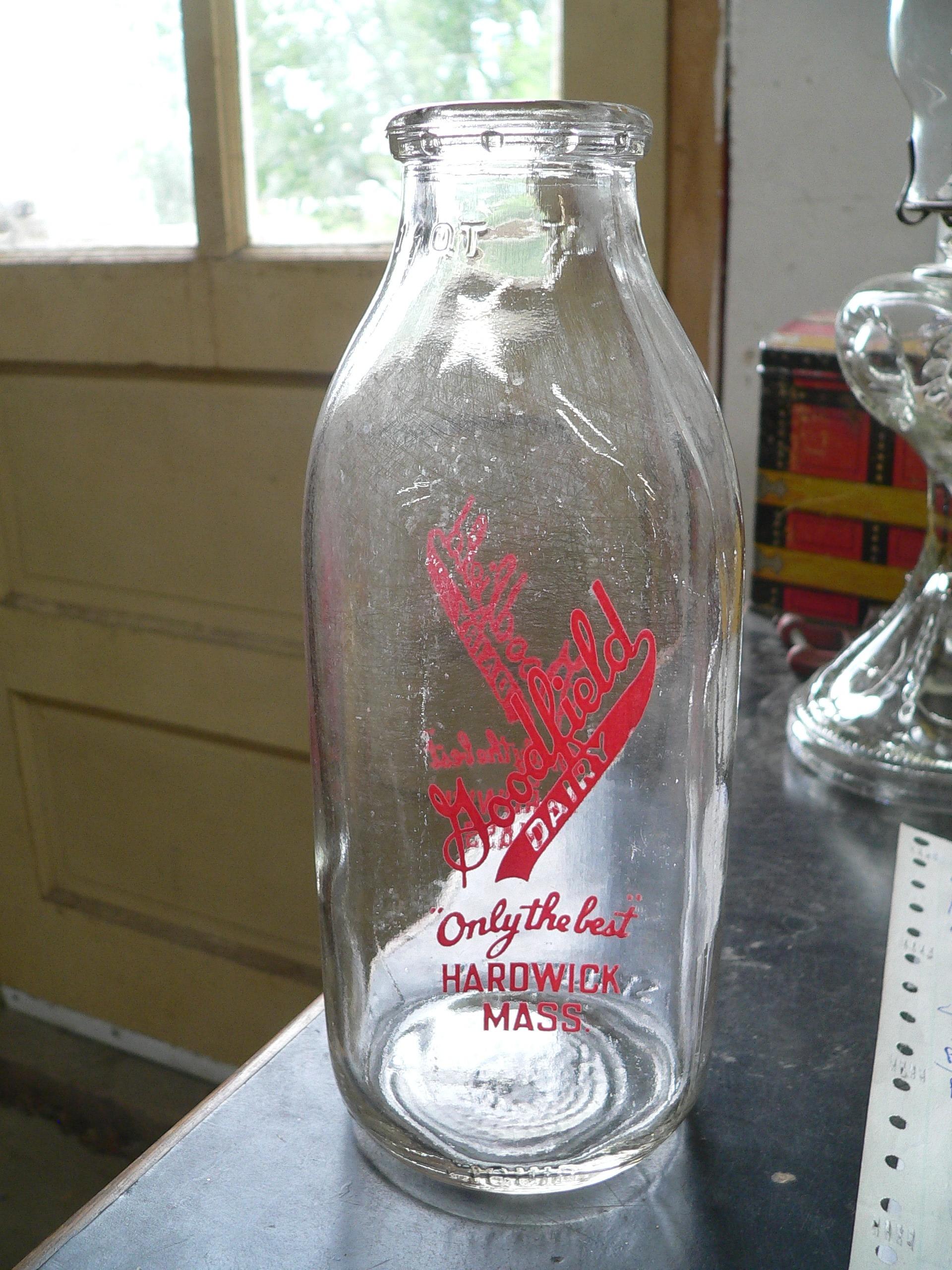 Bouteille antique de lait # 7162.4