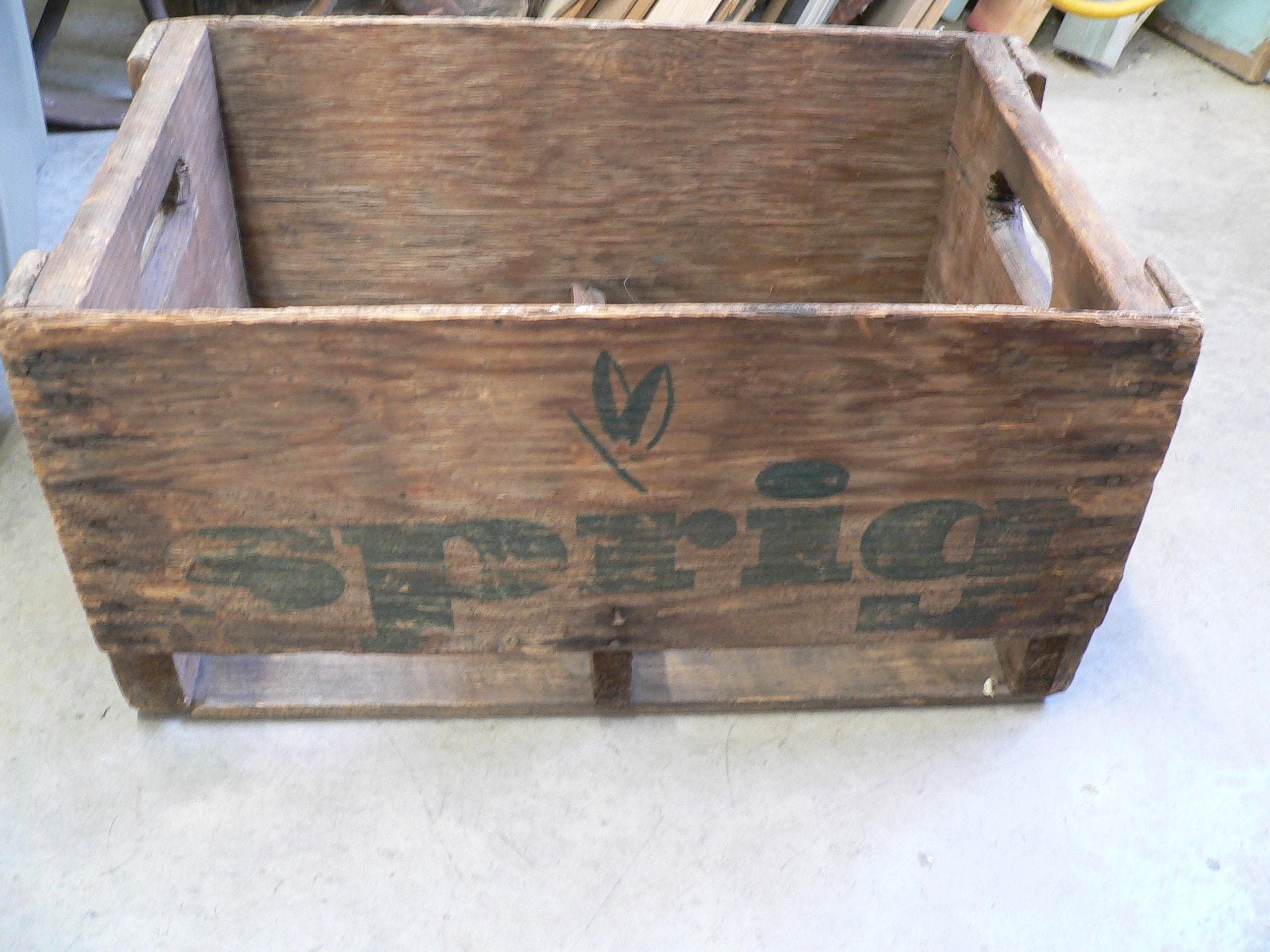 Caisse de liqueur antique spring # 7211