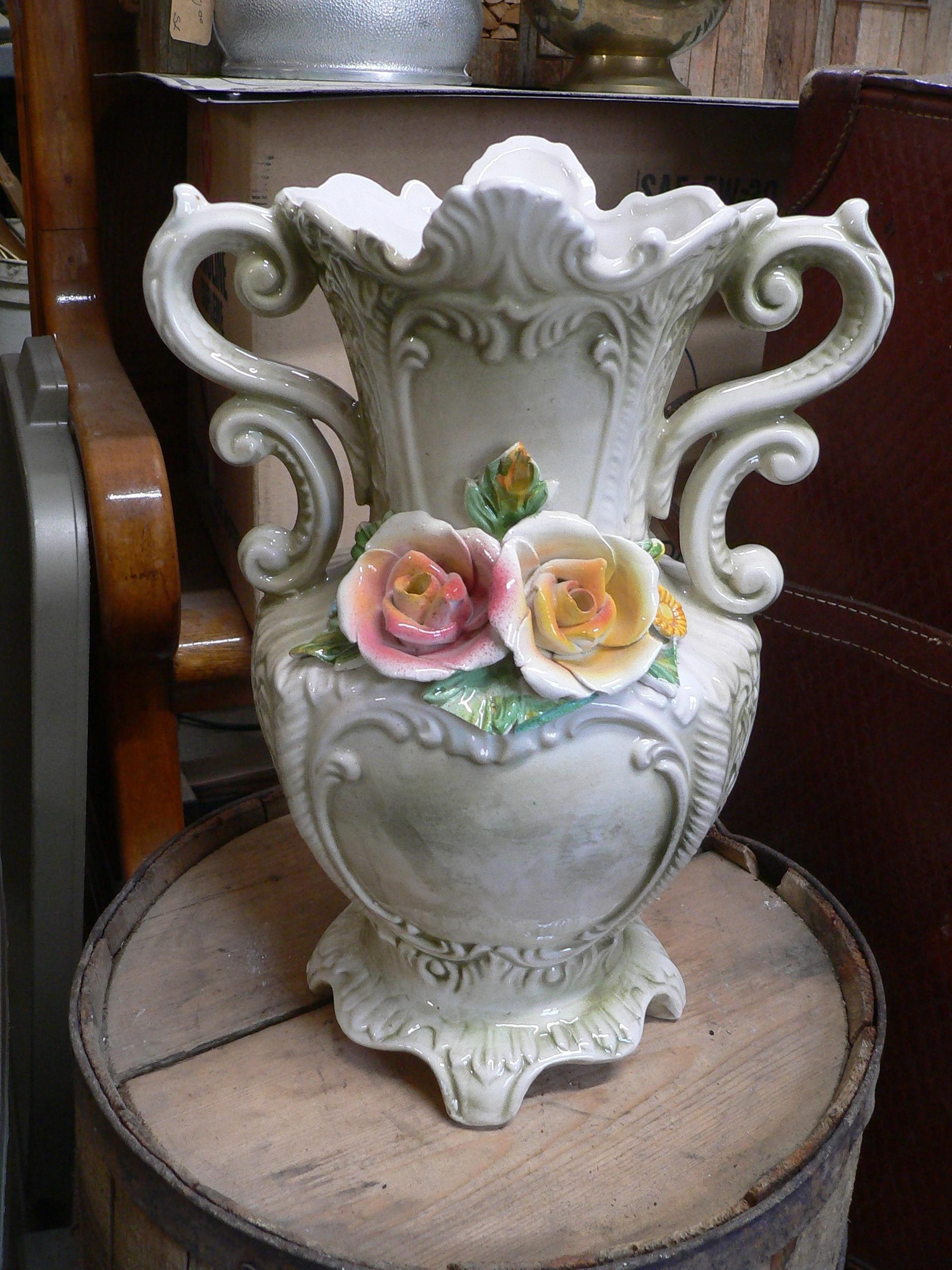 Tres beau vase antique # 7265.46