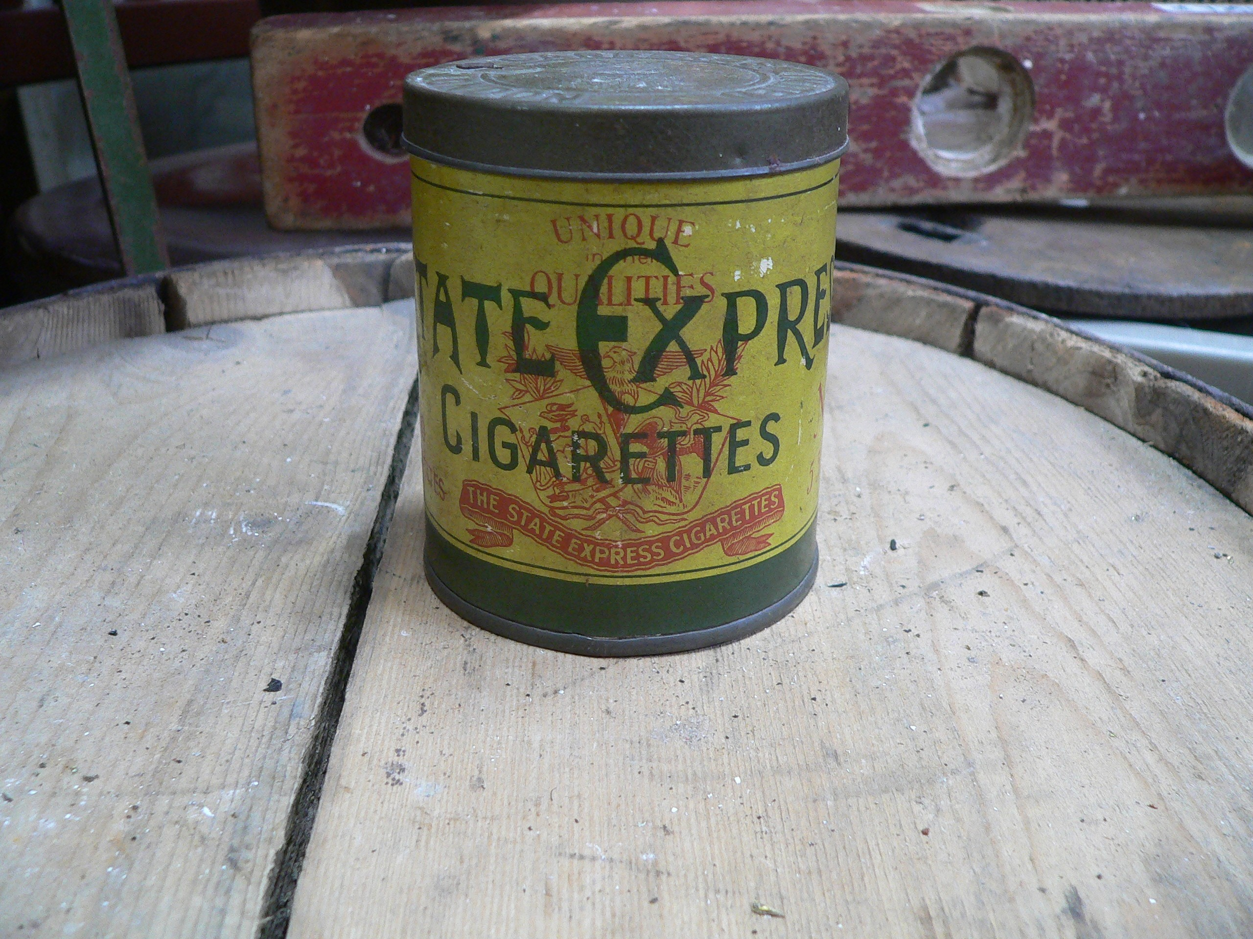 Canne de tabac state express antique # 7311.1