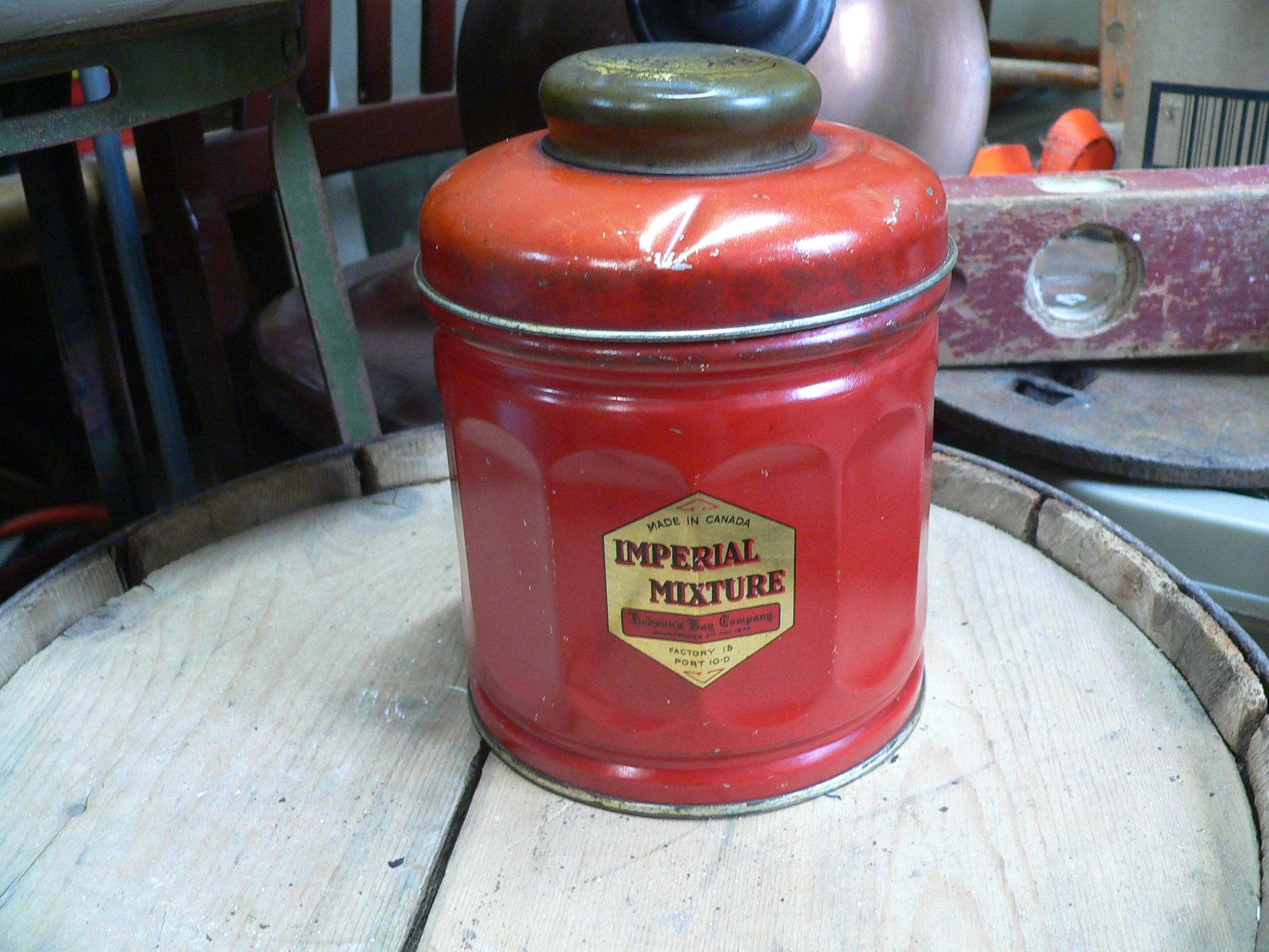 Canne de tabac antique impérial mixture de la bay d'hudson # 7311.5
