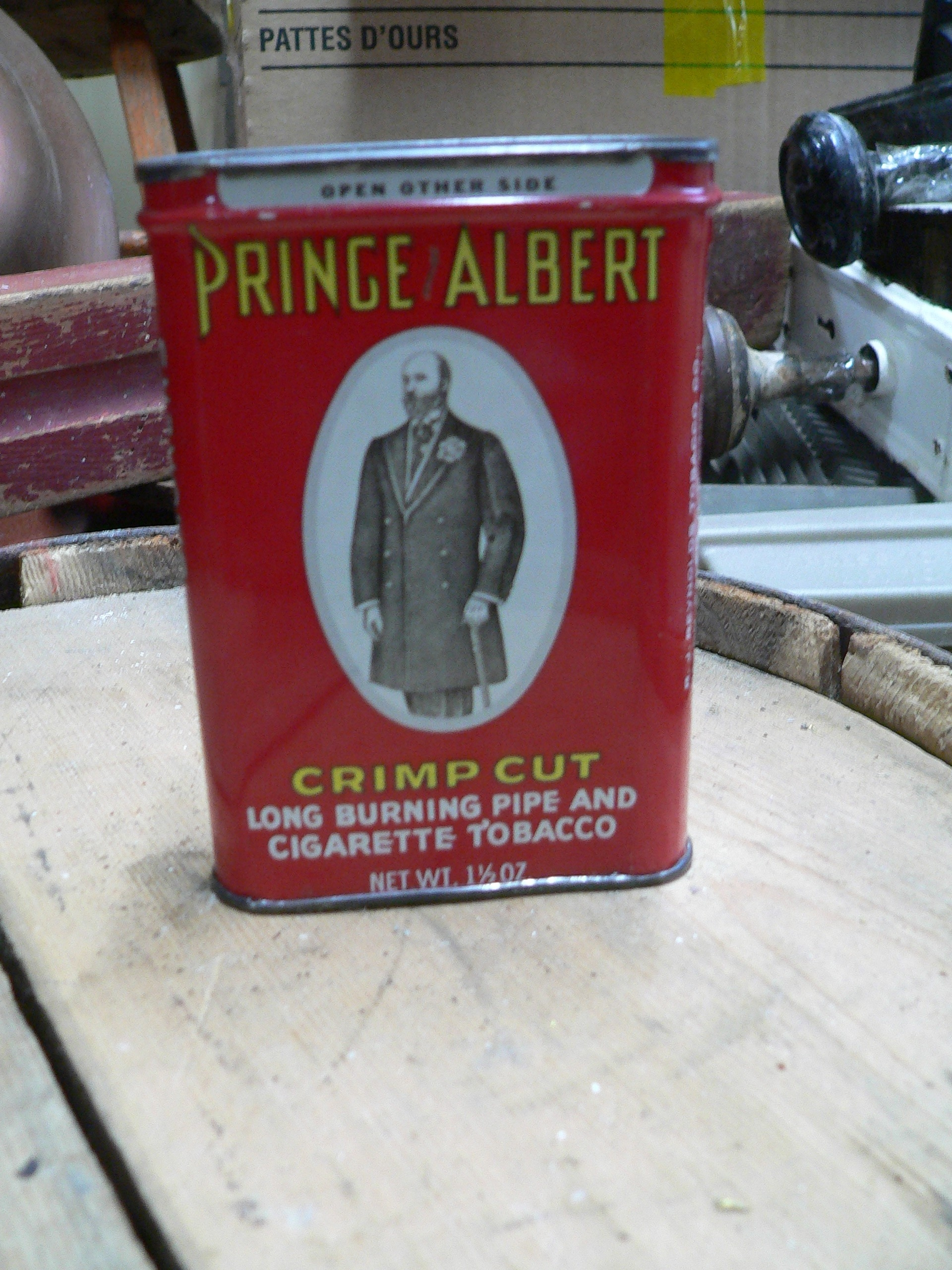 Canne antique tabac prince albert # 7311.8