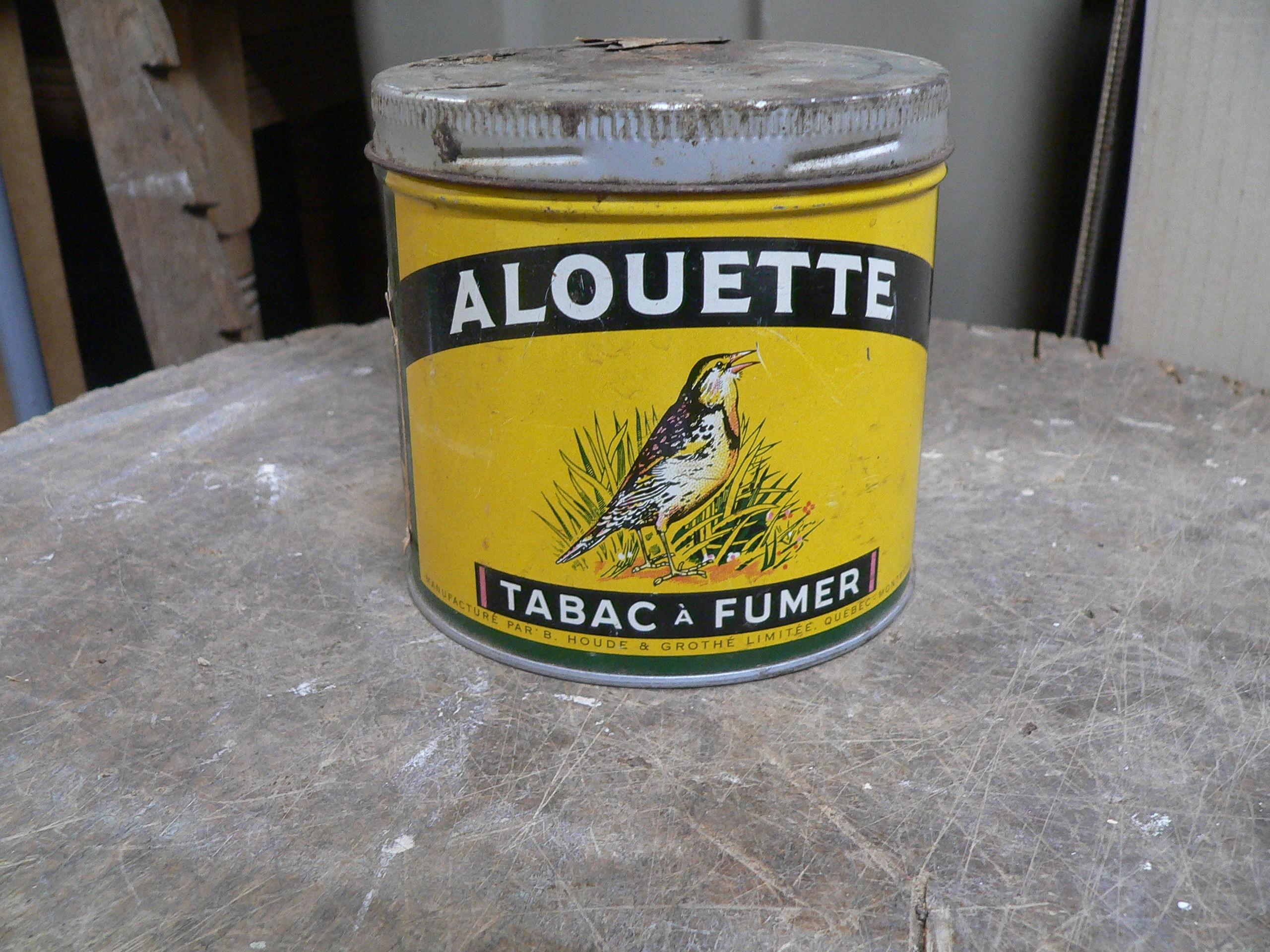 Canne de tabac alouette # 7452