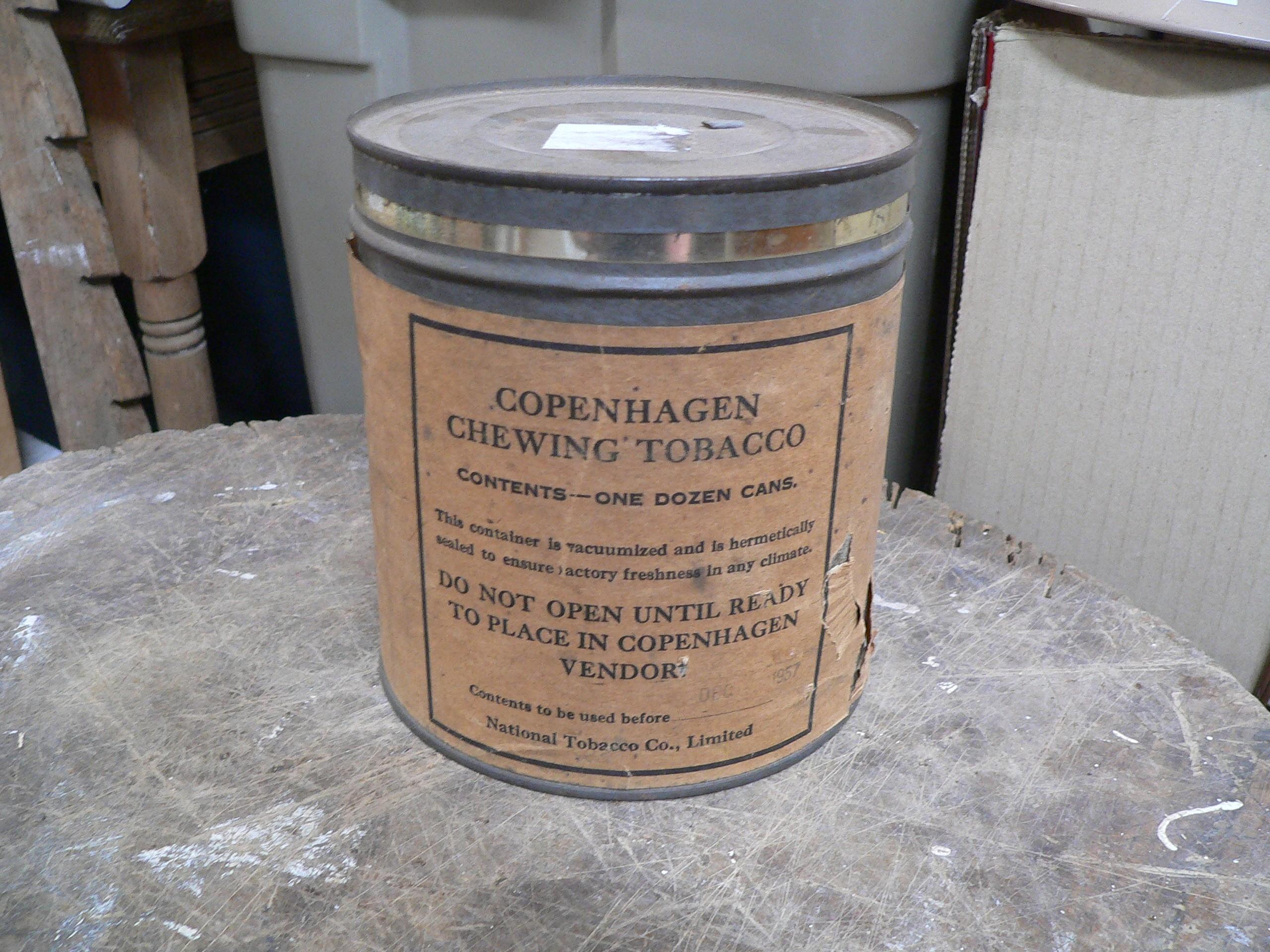 Canne de tabac copenhagen # 7486.1