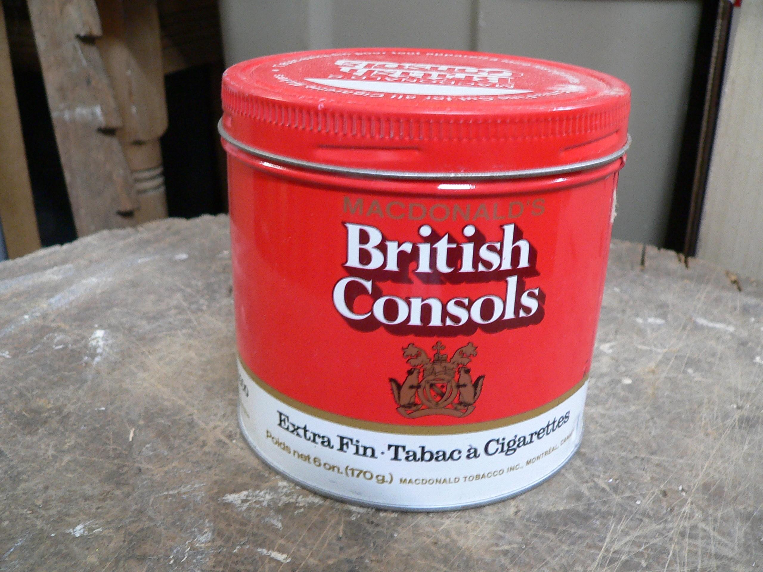 Canne de tabac british consols # 7486.6