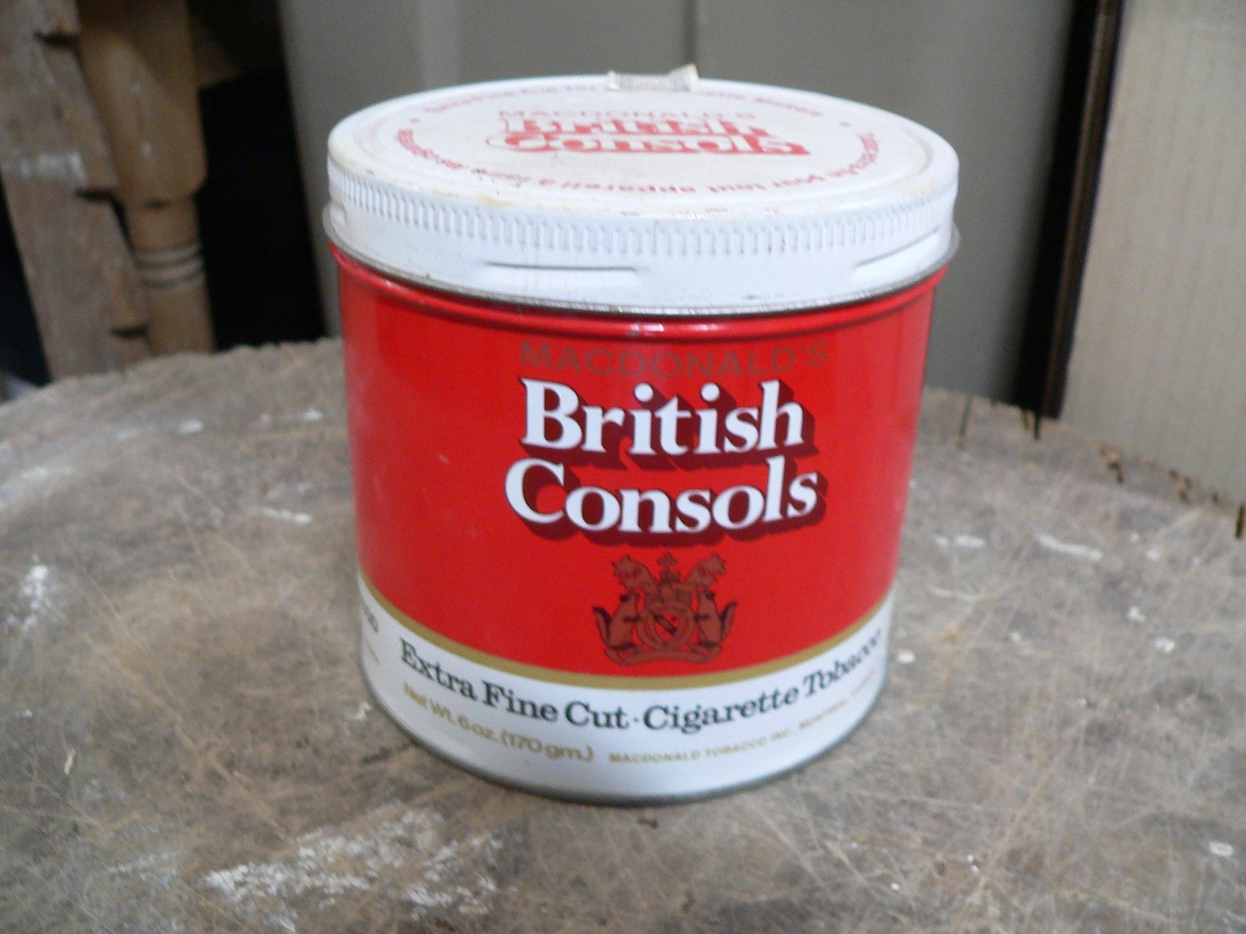 Canne de tabac british consols # 7486.7