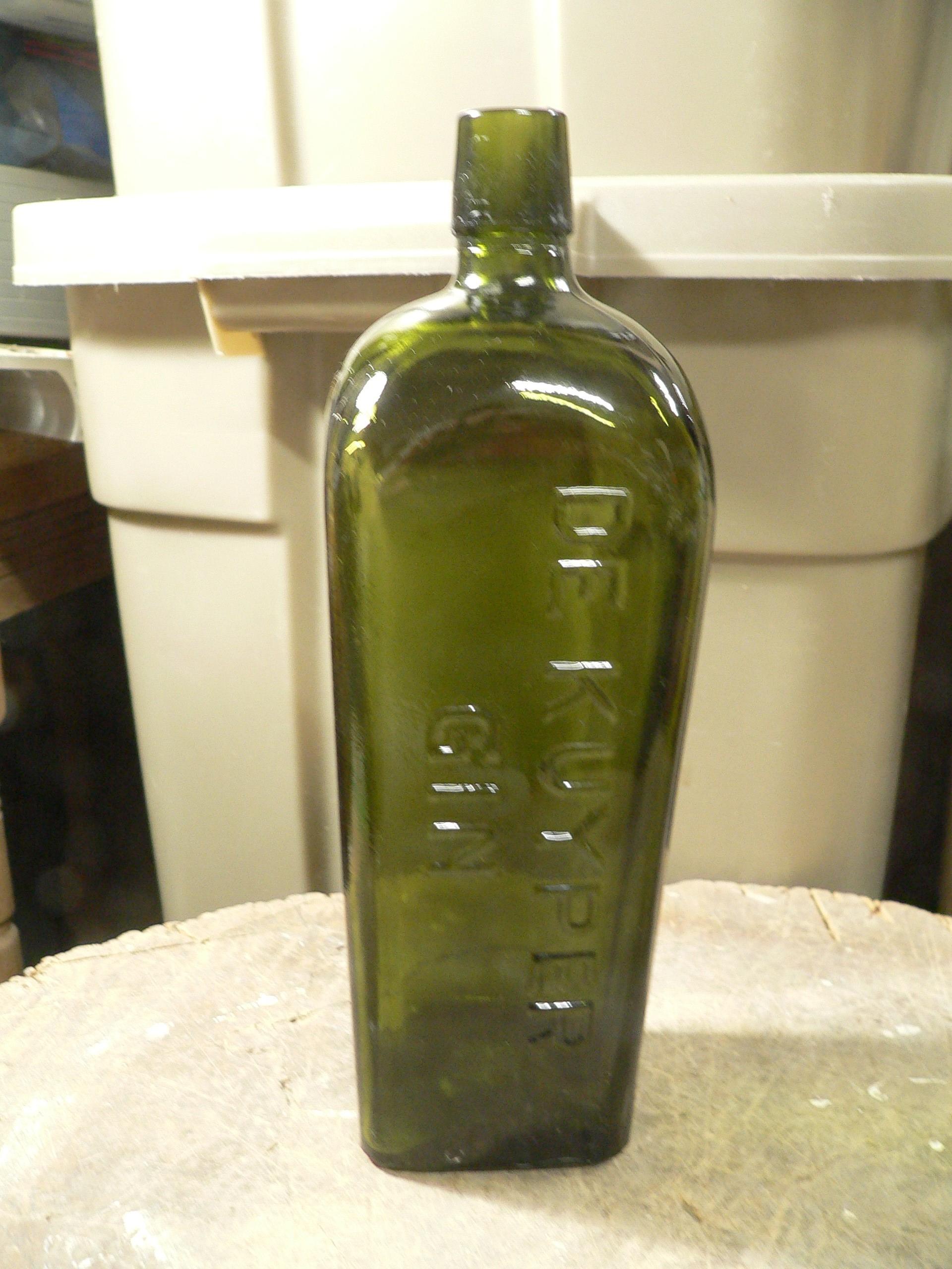 Grosse bouteille de gin # 7895