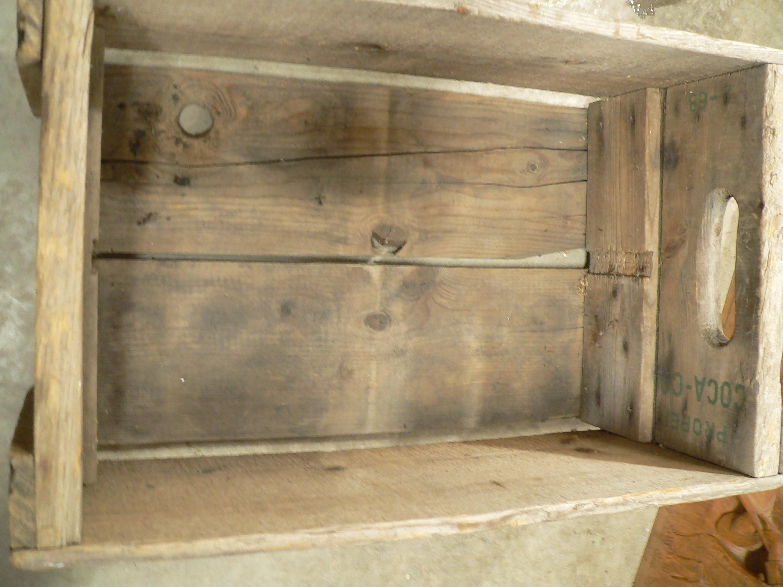 Caisse antique de coke # 7966.1