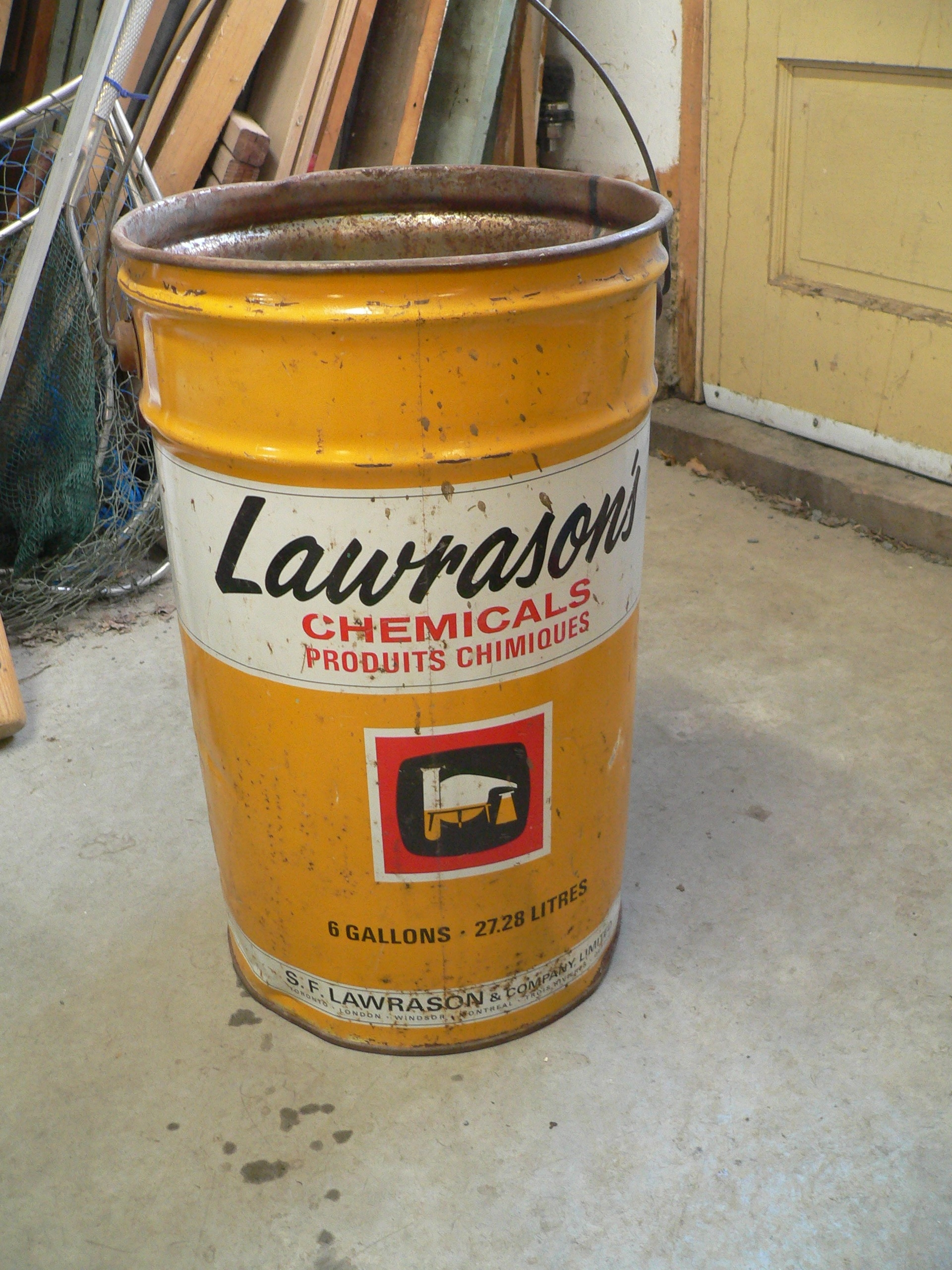 Chaudière antique lawrason's # 7994.1