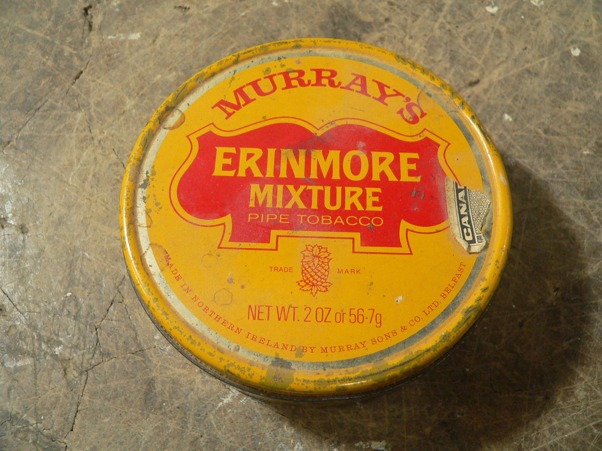 Boite murray's erinmore mixture # 8011.2