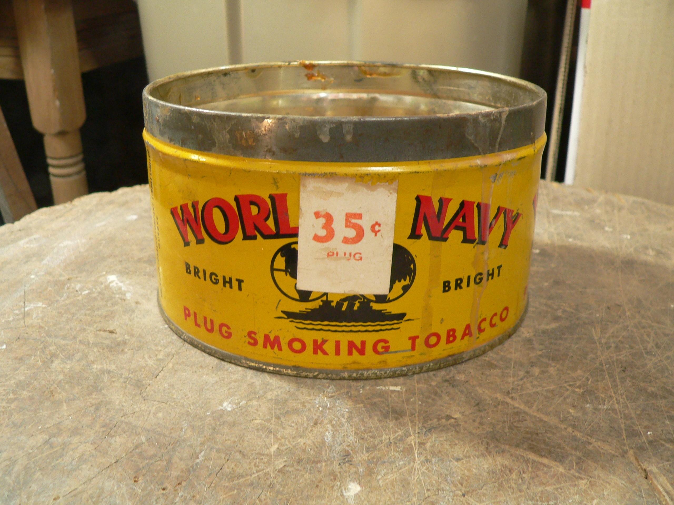 Boite de tabac world's navy # 8018