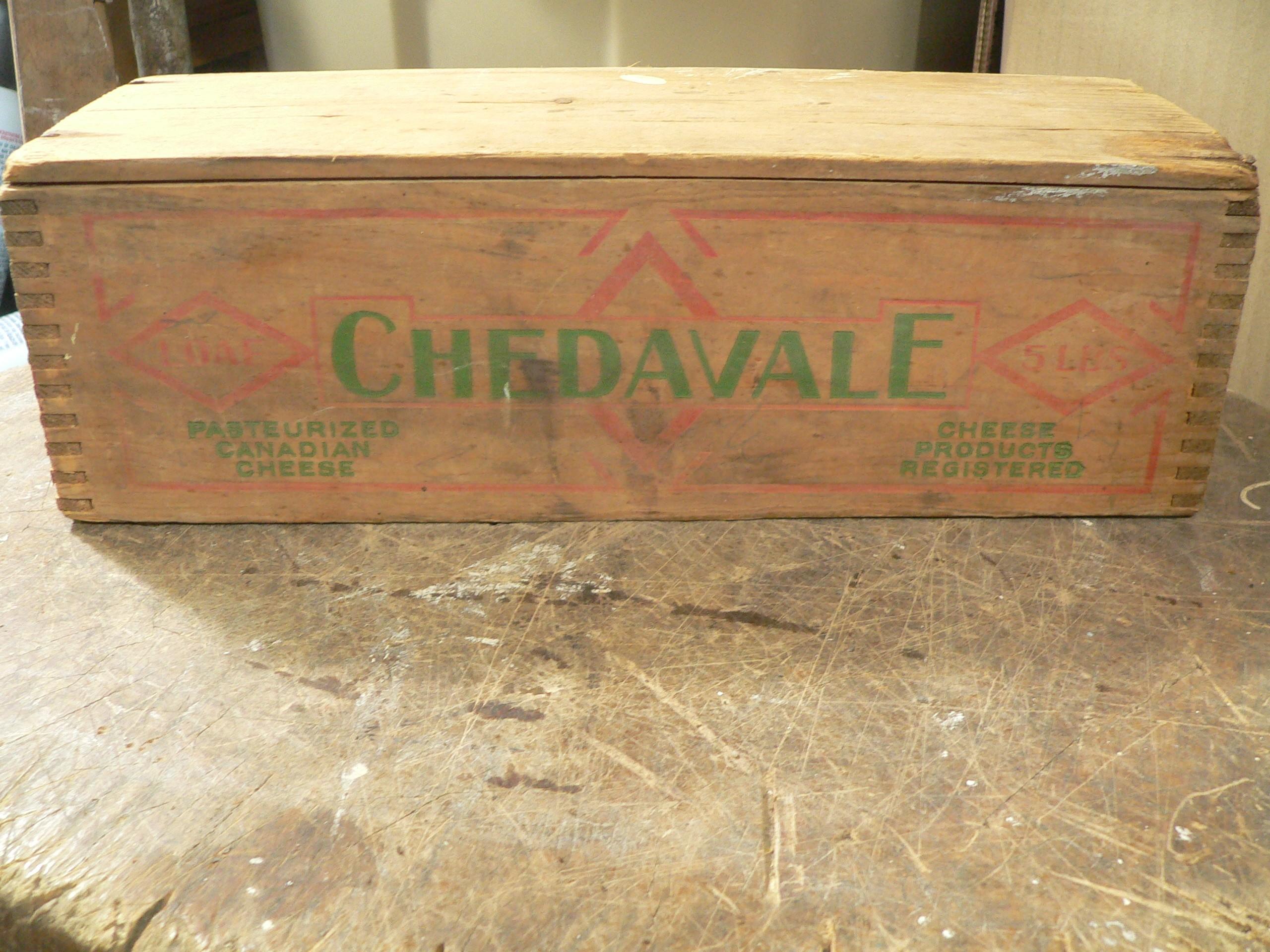 Boite de fromage chedavale # 8105.12