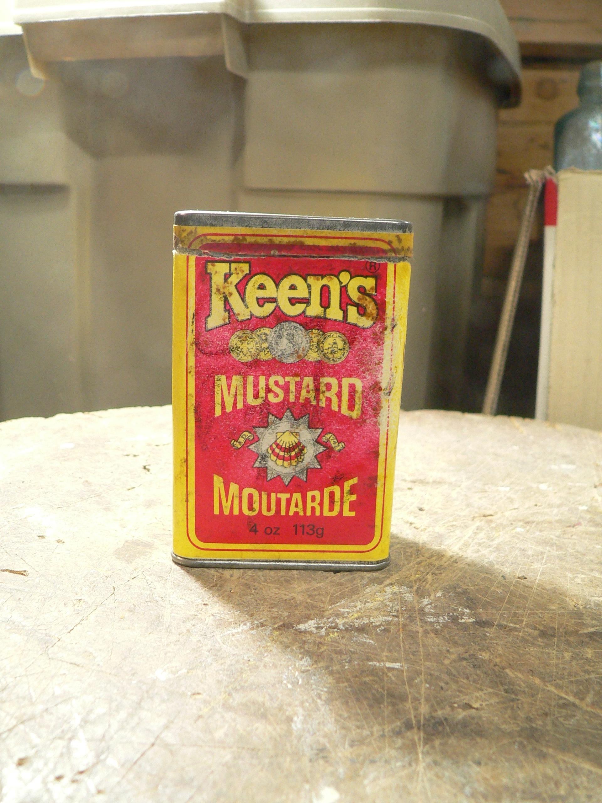 Boite de moutarde keen's # 8290.2
