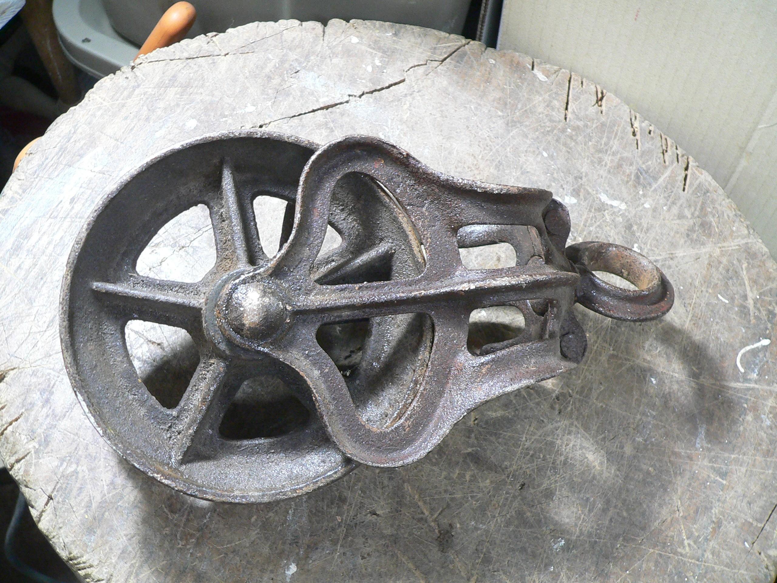 Poulie antique # 8549.5